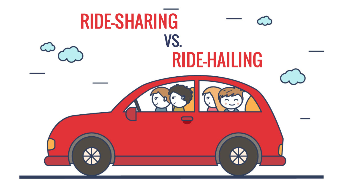 Ride-Sharing vs. Ride-Hailing: What's the difference?