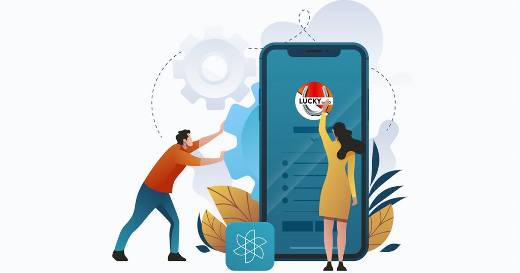 Ordering with Lucky to Go platform