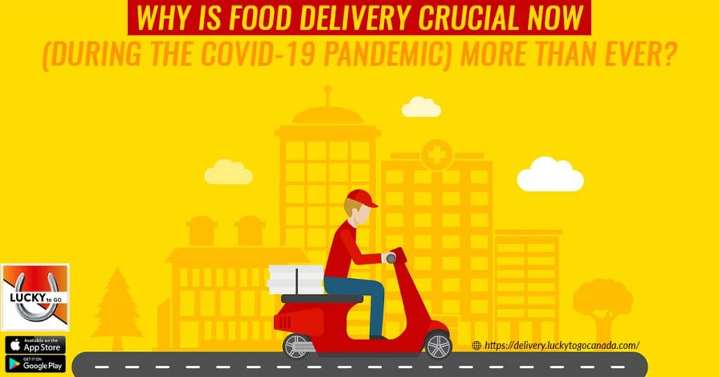 Food Delivery Crucial During Covid-19 Pandemic