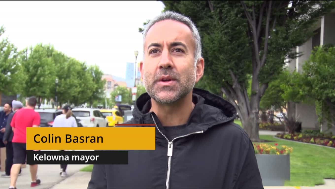 LTG Hits the Streets with Kelowna Mayor Colin Basran