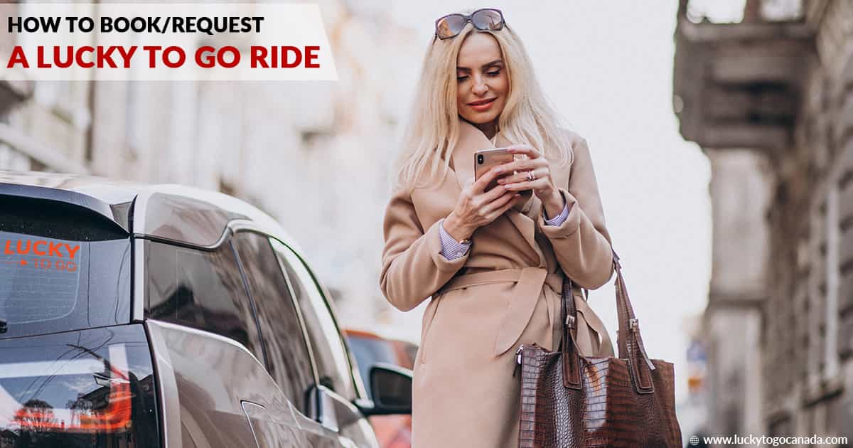 How to Book/Request A Lucky To Go Ride (3 Easy Steps)