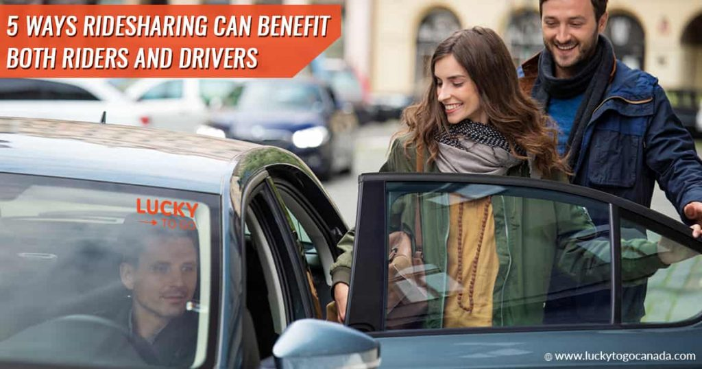 Ridesharing Benefits for Riders and Drivers